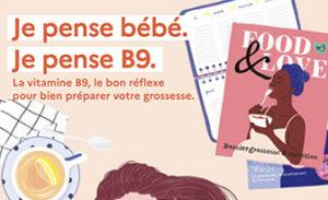 PNNS- La dernière brochure Vitamine B9 pour les femmes enceintes – Juin 2021